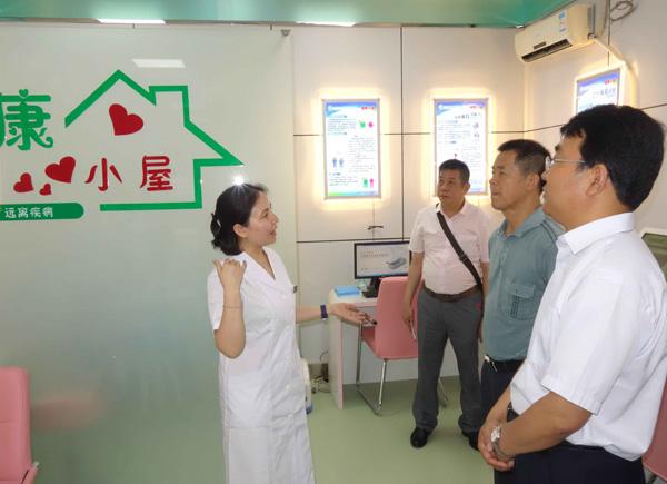 广西贺州市卫计局参观