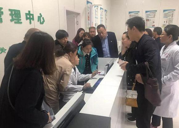 运城市夏县医疗集团赴宝鸡健康管
